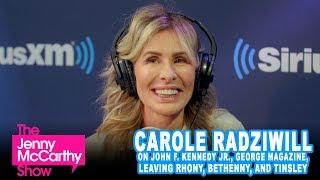 Carole Radziwill on JFK Jr., Leaving RHONY, Bethenny, Tinsley, and More