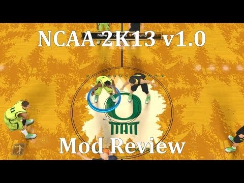 Mod Review - NCAA 2K13 v1.0 for NBA 2K13