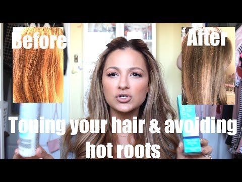 Toning Brassy Hair & Avoiding HOT ROOTS