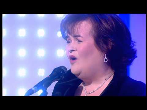 Susan Boyle - Somewhere Over The Rainbow - This Morning - 22 Nov 2012