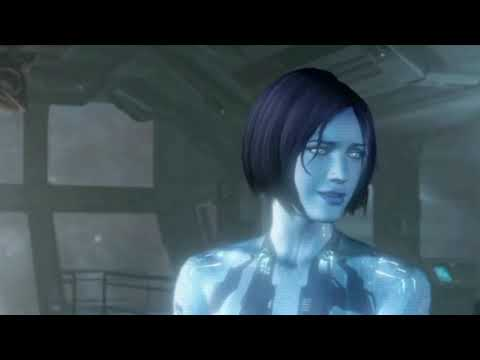 Chief and Cortana talk about washing your hands and keeping your distance