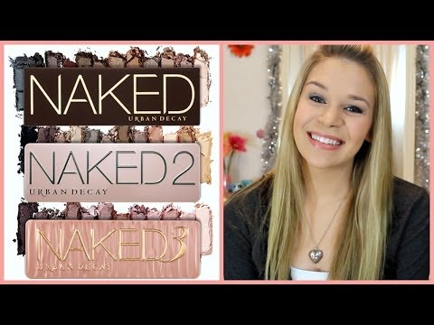 Urban Decay Naked Palette Comparisons!