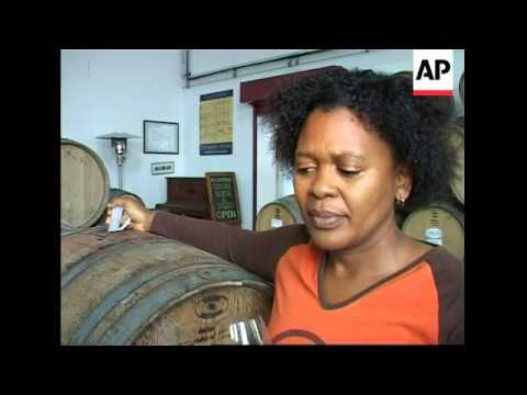 Black women begin making wine near Cape Town