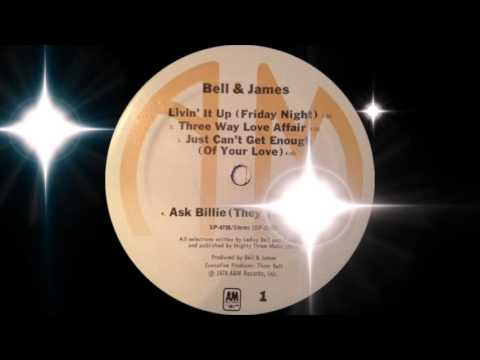 Bell & James - Livin' It Up (Friday Night) A&M Records 1978