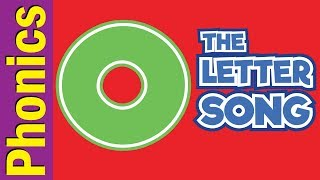 The Letter O Song   Phonics Song   The Letter Song   ESL for Kids   Fun Kids English