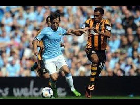 Dzeko, David Silva Hull City  0-2 ManchesterCity 15/03/2014 Video for chat
