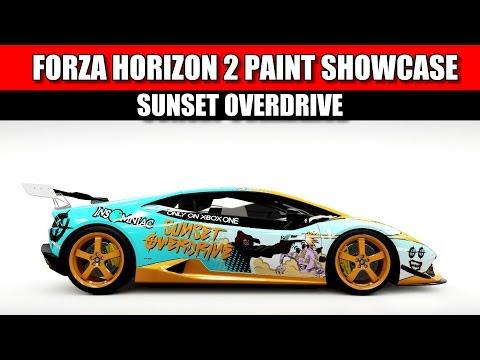 Forza horizon 2: Paint Showcase - FRS Elmutem - Lamborghini Huracan