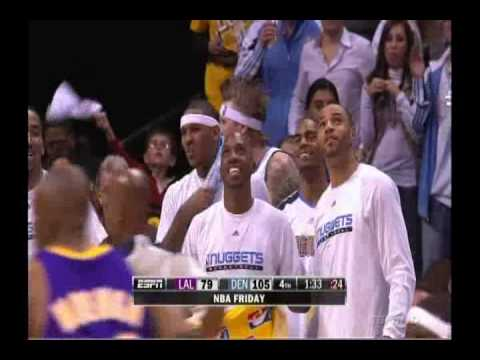 Ty Lawson Dunks On D.J. Mbenga & Josh Powell