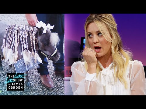 Kaley Cuoco's Pony Had Cold Feet at Her Wedding