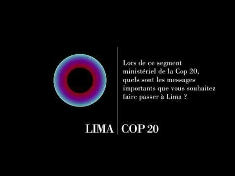 Ségolène Royal : Lima, une conférence cruciale pour Paris 2015