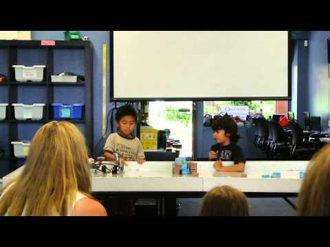 Summer Camp Session 3 Show and Tell Part 3: Daniel and Andrew