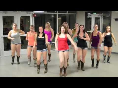 Girl In A Country Song Line Dance video