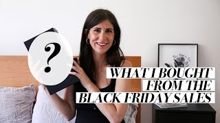 WHAT I BOUGHT FROM THE BLACK FRIDAY SALES: Did I stick to my wishlist? | Mademoiselle