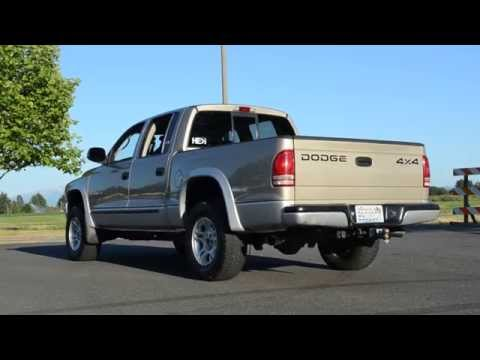 2002 Dodge Dakota Quad Cab 5-speed 4.7L V8