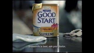 Nestle Good Start Supreme Baby Formula Commercial (2004)