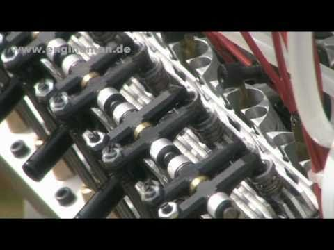 OHRNDORF V12 Modellmotor RC engine HD-Version