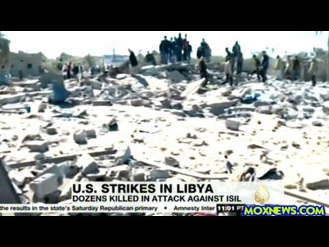 U.S. WAR PLANES BOMB LIBYA! AT LEAST 40 KILLED!