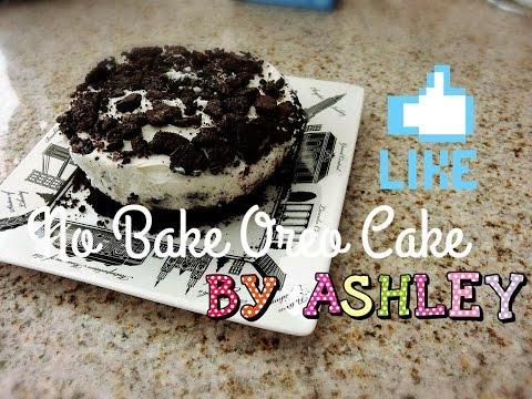 【ASHLEY HOUSE】Jello No Bake Oreo Cake/ Jello No Bake Oreo 蛋糕♡