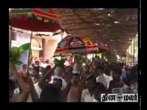 Agasthesvarar Temple Celebratioon video