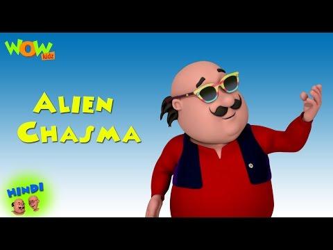 Alien Chasma - Motu Patlu in Hindi - ENGLISH, SPANISH & FRENCH SUBTITLES! Animation Cartoon for Kids thumbnail