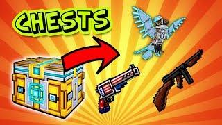 I WON A FREE GUN?! - Pixel Gun 3D Event Chest Opening