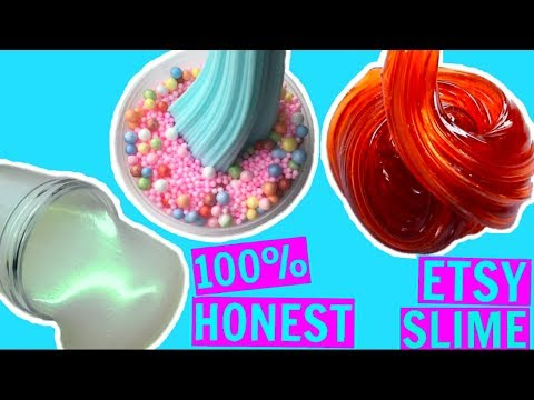 100% HONEST SLIME SHOP REVIEW! Underrated instagram slime shop review! US slime package unboxing!