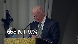 Bush friend delivers emotional tribute at funeral