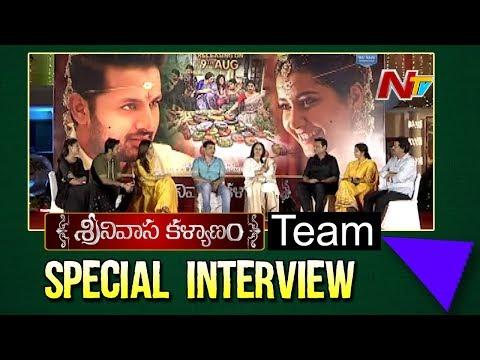 Srinivasa Kalyanam Team Interview | Nithiin | Raashi Khanna | Dil Raju | NTV