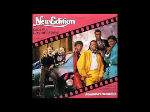 New Edition - Once In A Lifetime Groove - 12'' Mix (1986)