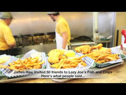 BEST FRIED FOOD in Las Vegas; Lazy Joe's Fish and Chips