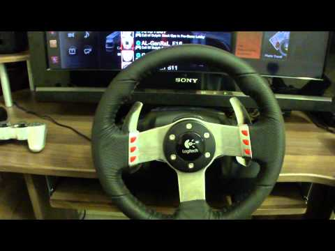 GT5 driving wheel G27 review by Thiyab Al-Otaibi part#1