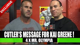 Jay Cutler Sends Message To Kai Greene!