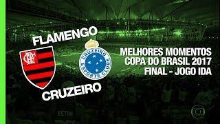 Melhores Momentos - Flamengo 1 x 1 Cruzeiro - Copa do Brasil - 07/09/2017