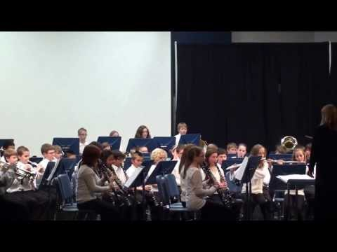 Bandroom boogie - DC Everest Middle School 2013-2014 Concert