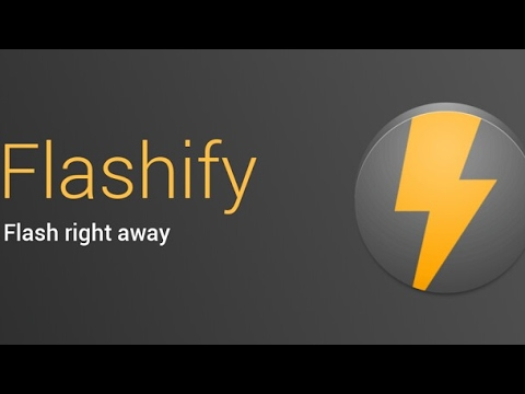 Flashify App Review - How To Flash Custom ROMs. Recoveries Using Flashify