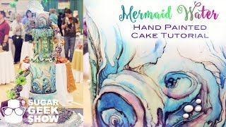 Mermaid Wash Cake for NCACS