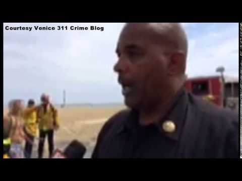 Raw Video   Venice Beach Lightning Strikes