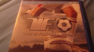 My Football Video Game Collection Part 1