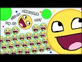HOW TO GET TO TOP 10 IN 10 SECONDS! AGARIO AWESOME EDITION (T...