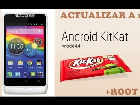 Actualizar (+Root) Motorola Razr D1 4.4.2 KitKat (XT914. XT915. XT918) (LOQUENDO)