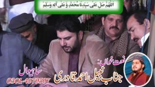 Nabeel Ahmad Qadri  with syed salman mohsin gillani mahfil e naat swl
