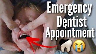 She Fell & Broke Her Tooth... | Teen Mom Vlog