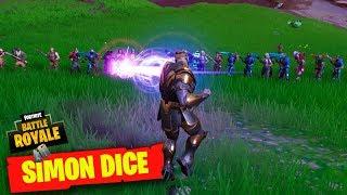 Thanos Dice Minijuego Simon Dice Partidas Privadas Fortnite Elchurches