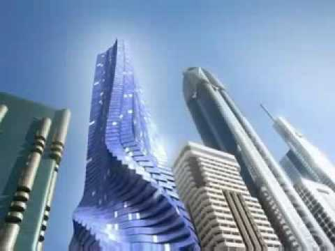 Building in motion in Dubai - Dynamic architecture