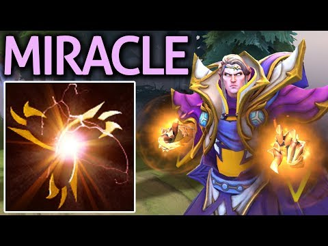 MIRACLE- Dota 2 [Invoker] Immortal Magus Accord