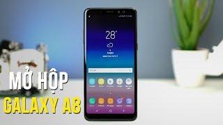 Mở Hộp Samsung Galaxy A8 2018 - Chiếc smartphone bất ngờ ra mắt dịp cuối năm