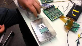 Test of a silicon PIN diode counter