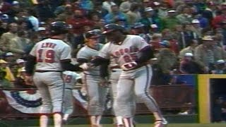 1982 ALCS Gm4: Baylor's grand slam cuts the deficit
