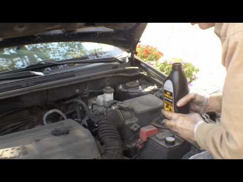 Toyota Corolla auto transmission  fluid change 2007 type s the unconventional way