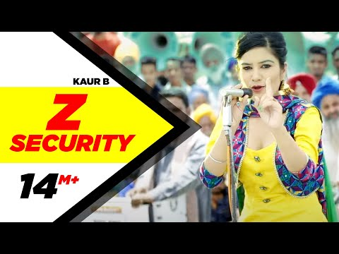 Z Security | Kaur B | Desi Robinhood | Latest Punjabi Song 2015 | Speed Records